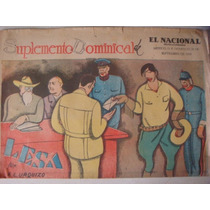 Periódico Antiguo El Nacional Revolucionario 1930