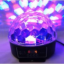 Esfera De Luz Led Iluminacion Rgb Dmx 6ch Efecto Disco 150mw