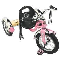 Triciclo De Acero Schwinn Roadster Rosa (meses Sin Intereses