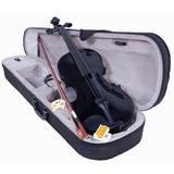 Violin 4/4 Incluye Arco Brea Estuche Acustico Negro
