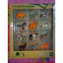 Set De Caballos Miniatura De Animal Kingdom