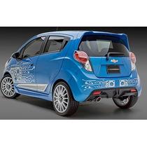 Difusor Faldon Trasero Chevrolet Spark 2013 En Adelante