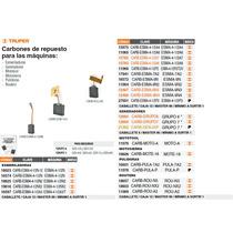 Carbones De Repuesto Para Esmeriladora Esma-9n