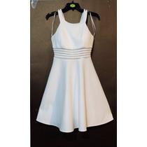 Vestido Nina Ferré Hueso Corto Mod 5300 En Venta En