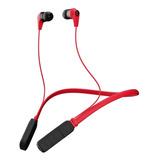 Audífonos Inalámbricos Skullcandy Ink'd Wireless Red Y Black