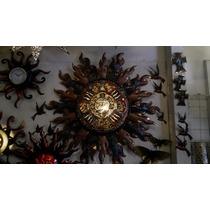 Lámpara Azteca De Cobre Artesanal (mediano)