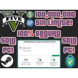 Gta V Online [solo Pc] 100 Millones + Niveles 100% Seguro