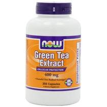 Ahora Alimentos Green Tea Extract 400 Mg 250 Cápsulas De Gel