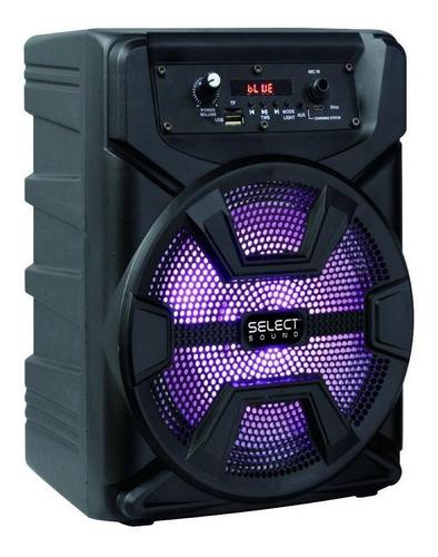 Bocina Select Sound Hero Bt1008 Portátil Inalámbrica Negro