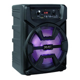 Bocina Select Sound Hero Bt1008 Portátil Inalámbrica Negro