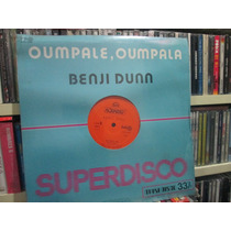 Disco Lp Benji Dunn Dancin - Oumpale, Oumpala Nuevo