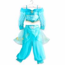 Disfraz De Princesa Jasmin Disney Store Original