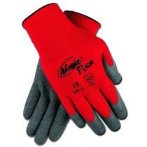 Memphis Cn9680l Ninja Flex Guantes 15 Gauge Red Nylon Shell