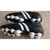 huge discount 24565 1e890 Zapatos Negros 26 Futbol Soccer Tachones Spikes Tacos Piel