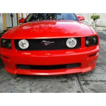 Facia Estribos Y Tomas De Aire Mustang 2005 Fibradevidrio