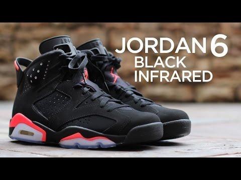 Tenis Air Jordan Retro 6 Infrared 5073f7fd60578