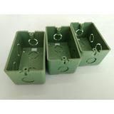 Caja 100 Pz Chalupa Eléctrica Conduit Salida 1/2'' & 3/4''