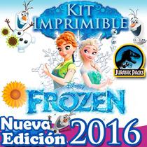 Frozen Kit Imprimible Frozen Fever Fiebre Congelada Pag Oxxo