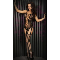 Lenceria Sexy Bodystocking Stripper Envio Gratis Mod Erotico