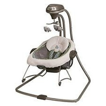 Columpio Portátil Bebe Graco 2 En 1 Swing And Bouncer 2515