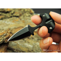 Cuchillo Mini Daga Defensa Personal Push Dagger Puñal