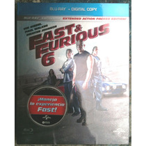 Rapidos Y Furiosos 6 Fast & Furious 6 Bluray + Cop Dig Lbf
