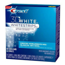 Cintas Blanqueadoras Dentales Crest 3d White 14 Sobres