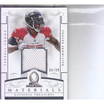 2014 National Treasures Pro Bowl Jersey Terrell Suggs Lb /99