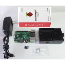 Kit Raspberry Pi 3 + 8gb + Carcasa + Fuente + Disipadores