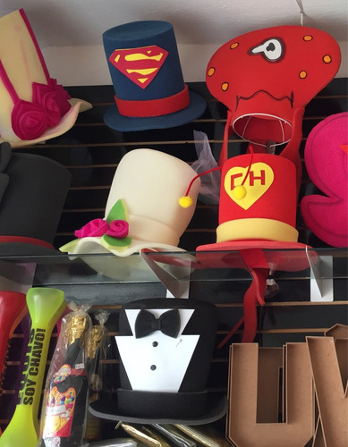 10 Sombreros Hule Espuma Surtidos -   999 en Melinterest e562a2944a1
