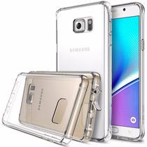 Funda Ringke Galaxy Note 5 + Mica Autoadherible
