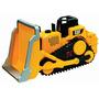 Tractor Bulldozer Caterpillar Motorizado Sonidos C/ Figuras