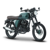 Moto Italika Sptfire 200 Verde Negro