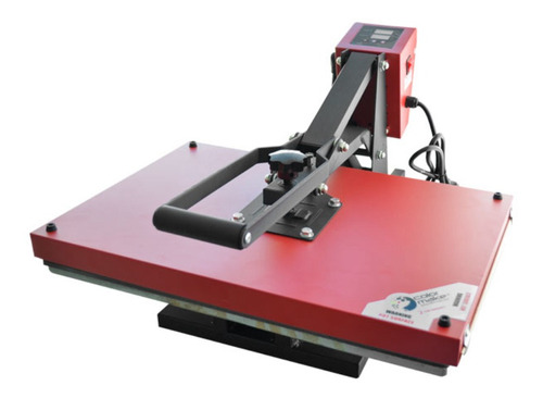 Plancha Sublimadora Manual Colormake Cm22-man4060 Roja Y Negra 110v/220v