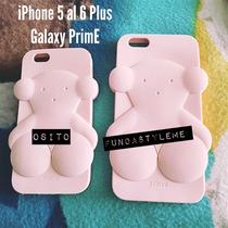 Funda Protector Galaxy Prime Iphone 4 4s Oso Tous Silicon