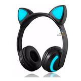 Kk Audifonos Diadema Gato Bluetooth Mayoreo Mp3 Gym Kw64