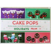Libro Cake Pops Navidad En Español Repostería De Bakerella
