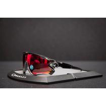 Lentes Oakley Jawbreaker Black In Red Polariz 9290-08