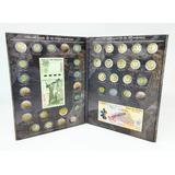 Álbum Para Monedas Conmemorativas $5 Y Billetes