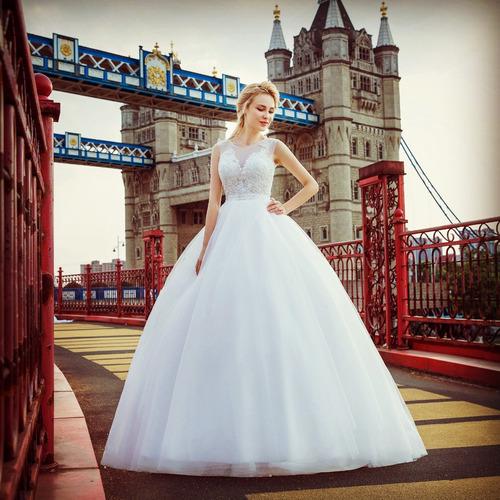 Vestido Novia Princesa Ivory Talla 6 Económico Envío Gratis