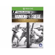 Rainbox Six Siege Gold Edition Xbox One Nuevo
