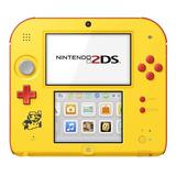 Nintendo 2ds Super Mario Maker Edition Amarillo Y Rojo
