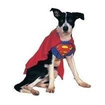 Disfraz De Perro De Superman Mascota