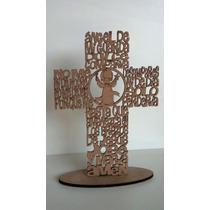 Cruz Con Oracion Angel De La Guarda E Imagen A Eleccion