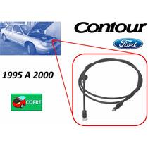 95-00 Ford Contour Chicote Cerradura De Cofre Sin Jaladera