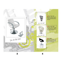 Silla Corte Estetica Estilista Ultra Moderna Modelo 1052