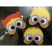 Paquete De 50 Antifaces De Minions