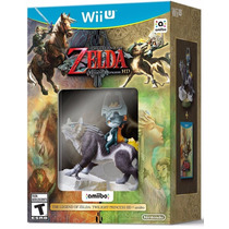 The Legend Of Zelda Twilight Princess Hd + Amiibo Fgk