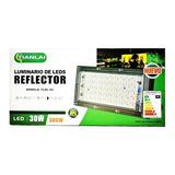 Reflector Led 30w 300w Luz Blanca Interperie Exterior  T2143