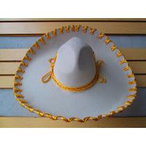 Sombrero Charro Mariachi Plata Oro Jaripeo Adulto Niño Fino en venta ... e6960e86e11